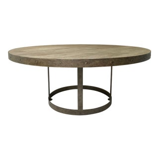 Transitional Chicago Custom Dining Table For Sale