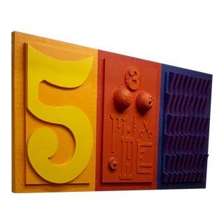 1960s Pop Art Assemblage by Dennis Davis For Sale