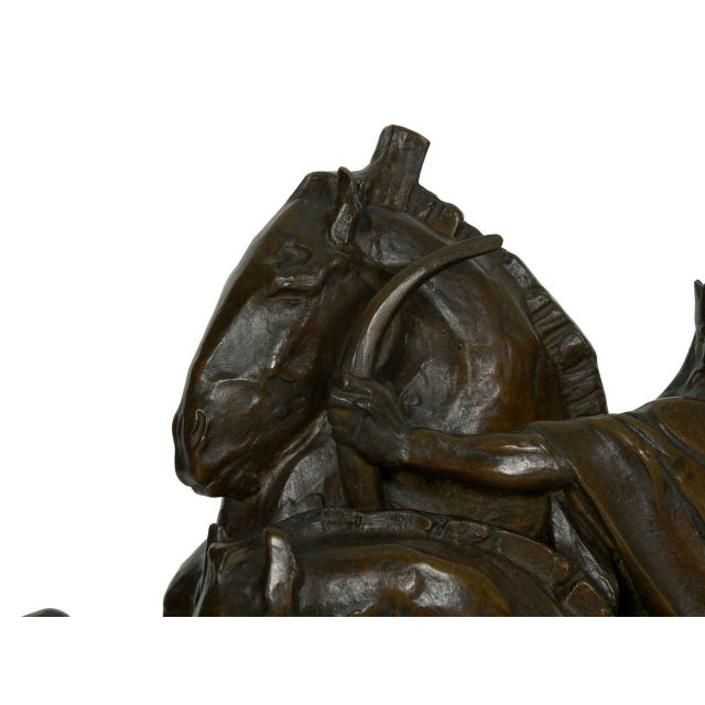 """The Four Horsemen of the Apocalypse"" Bronze Sculpture by Lee Oscar Lawrie (German/American, 1877-1963) For Sale - Image 6 of 13"