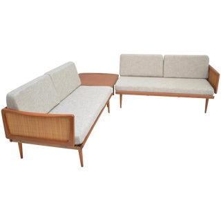 Peter Hvidt & Orla Mølgaard-Nielsen Fd451 Daybed Living Room Set For Sale