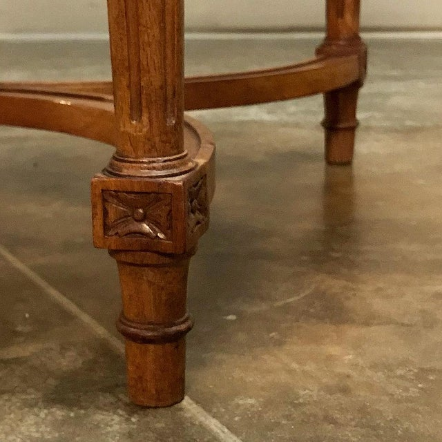 19th Century French Neoclassical End Table Ca. 1880 For Sale - Image 10 of 12