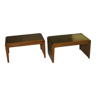 Convertible Stacking Occasional Tables by Edward Wormley For Sale