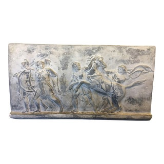 19th Century Antique Greek Roman Frieze Stele For Sale
