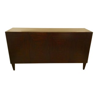 John Richards Macassar Ebony Wood Credenza