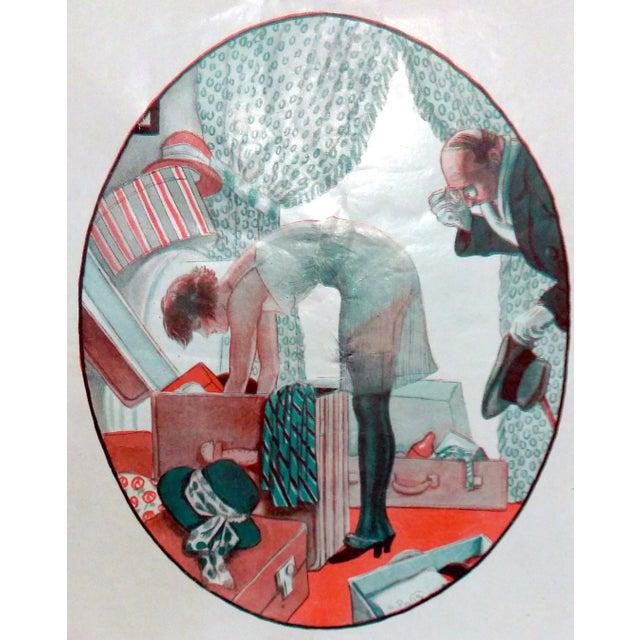 "1923 Fantasio ""Voyeur with Myopia"" by Georges Pavis - Image 4 of 5"