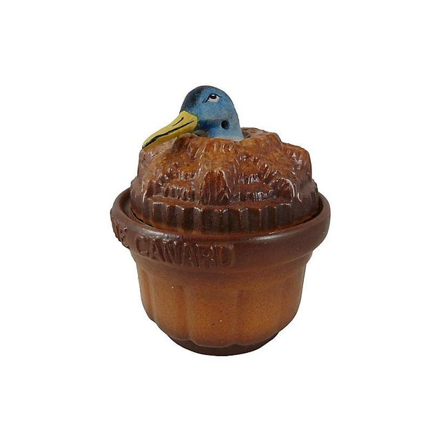19th C. Duck Pate Tureen - Image 5 of 5