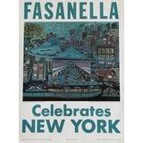 """Image of Fasanella, """"Fasanella Celebrates New York,"""" Poster For Sale"""