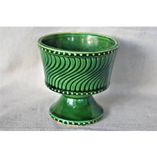 Vintage McCoy Green Cachepot Preview