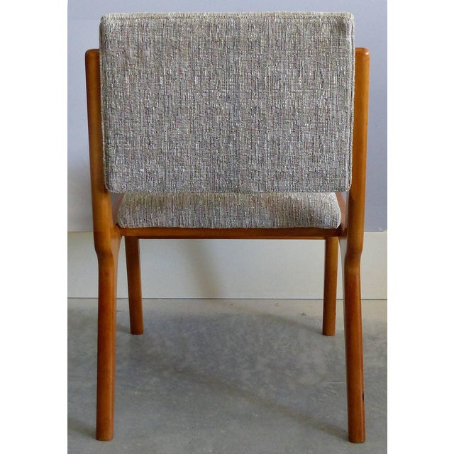 Brown Giuseppe Scapinelli De Rosa Wood Dining Table and Chairs Circa 1960 For Sale - Image 8 of 11