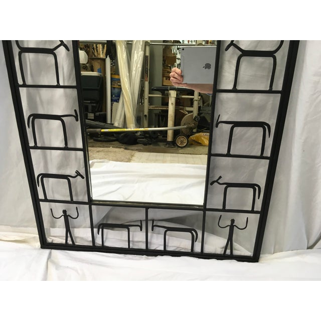 Frederick Weinberg Midcentury Modern Mirror For Sale - Image 9 of 10