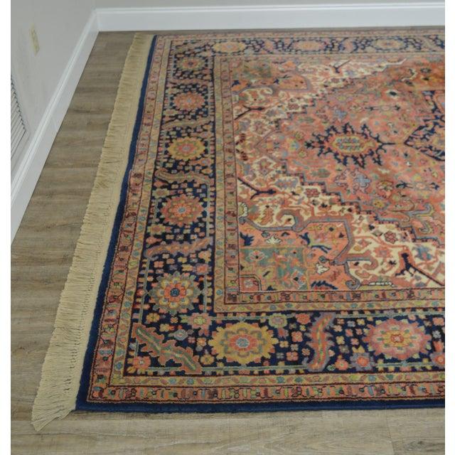 Karastan Heriz Serapi 9 X 12 Room Size Rug # 726 For Sale - Image 10 of 13