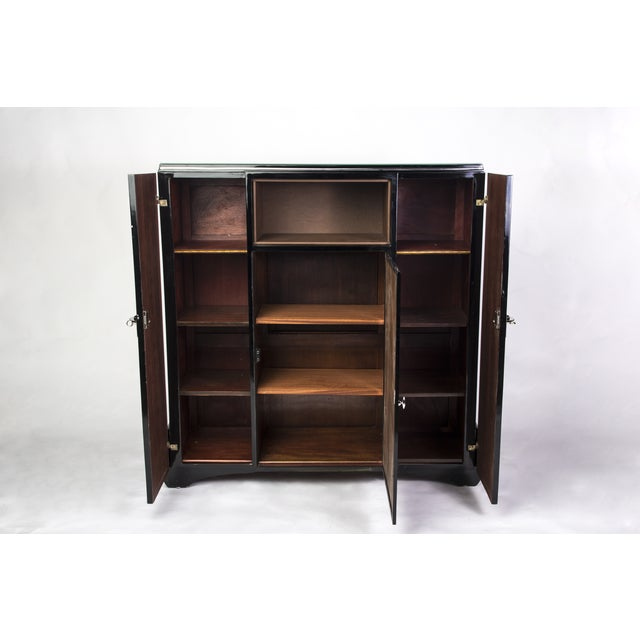 Art Deco 1930's Art Deco Highboard Cabinet For Sale - Image 3 of 6