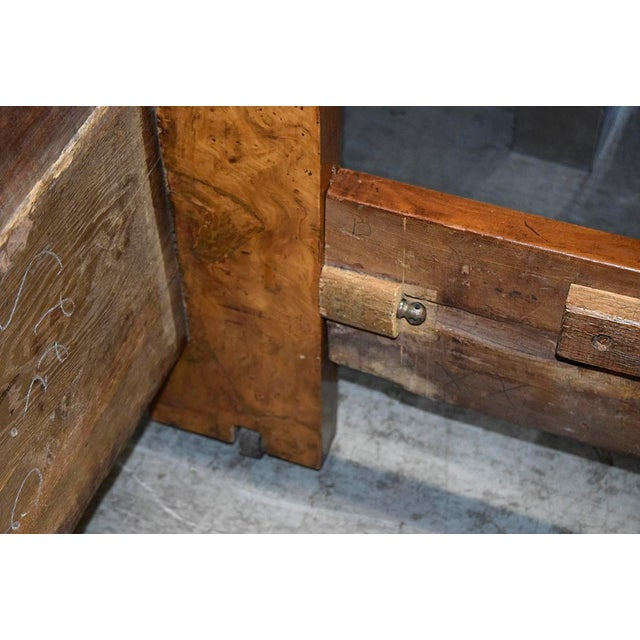 Early 19th Century French Empire-Style Burled Daybed For Sale - Image 10 of 12