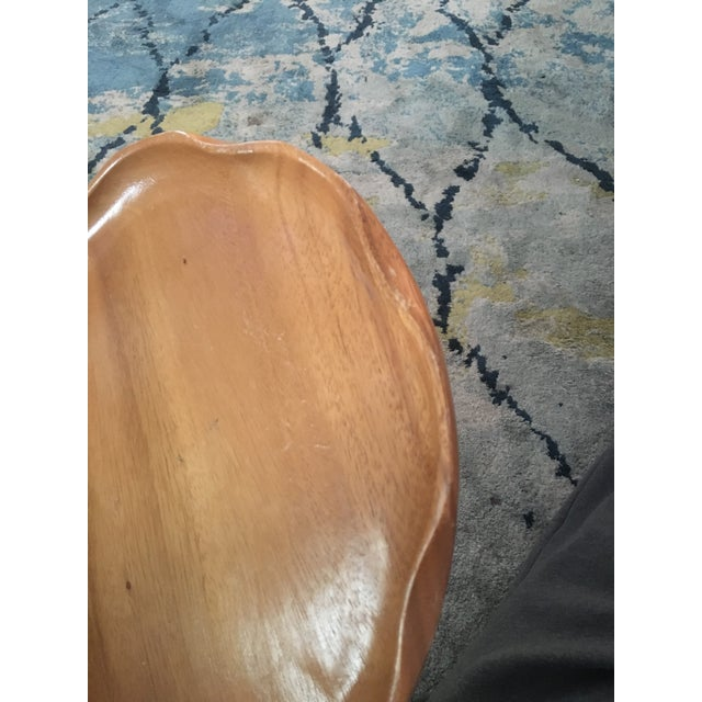 Handmade Wooden Tray - A Pair - Image 7 of 11