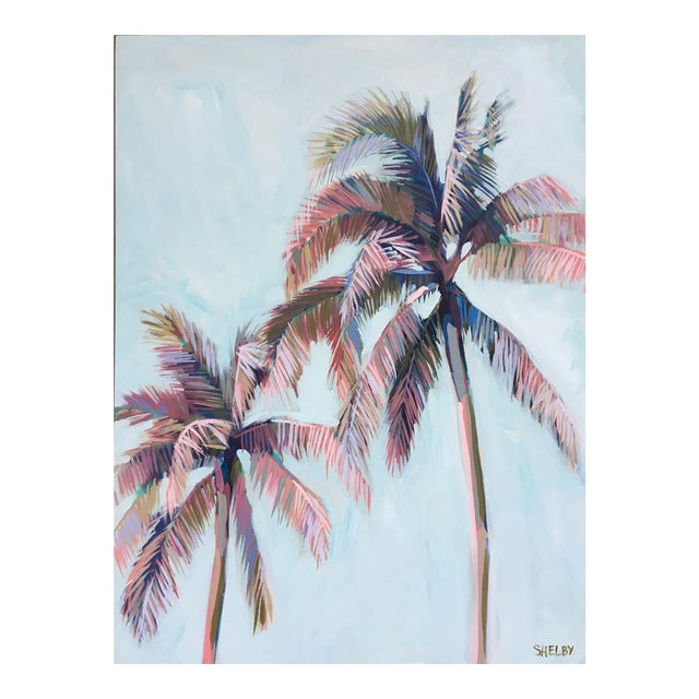Palm Tree 22 Painting For Sale