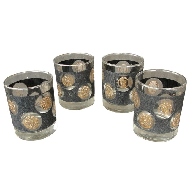 Libbey Coin Highball Glasses - Set of 8 - Image 1 of 10