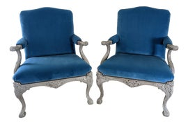 Image of Ralph Lauren Club Chairs