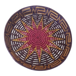Woven Moroccan Wall Basket