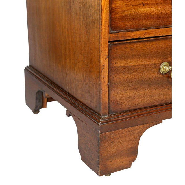 Late 18th Century George III Mahogany Bachelors Chest For Sale - Image 5 of 10