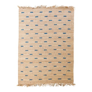 Jute Rug- 5′3″ × 7′6″ For Sale