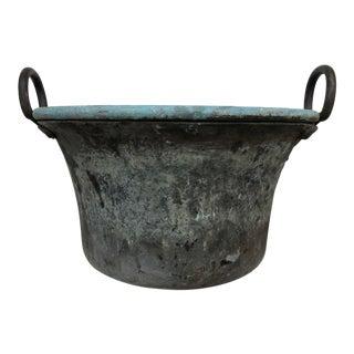 Rustic European Copper Pot