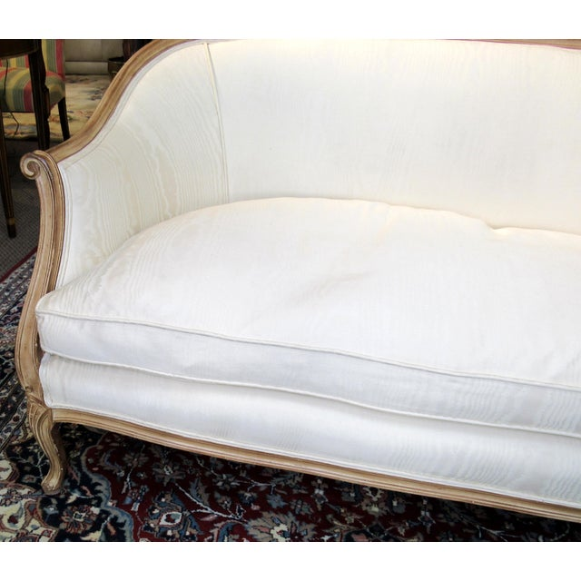 White Country French Style Settee For Sale - Image 8 of 13