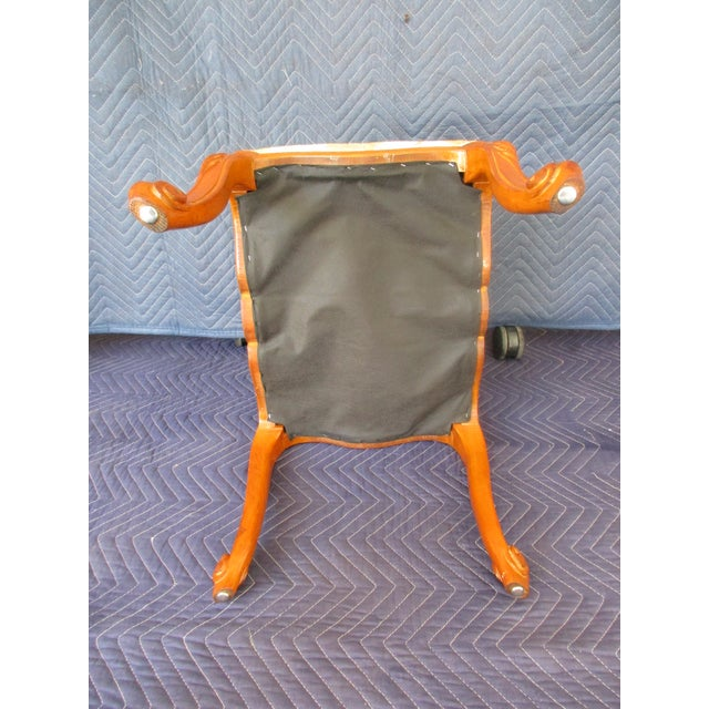 French Provincial Footstool For Sale - Image 10 of 12