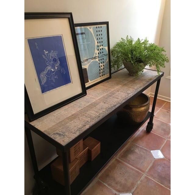 HD Buttercup Rustic Console Table - Image 7 of 7
