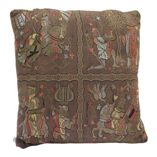 20th Century Renaissance Style Firm Support Pillow For Sale