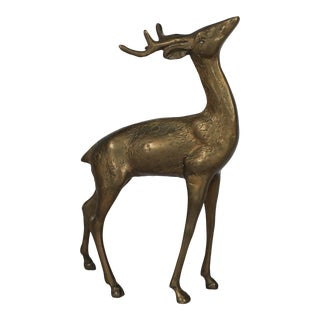 Brass Deer For Sale