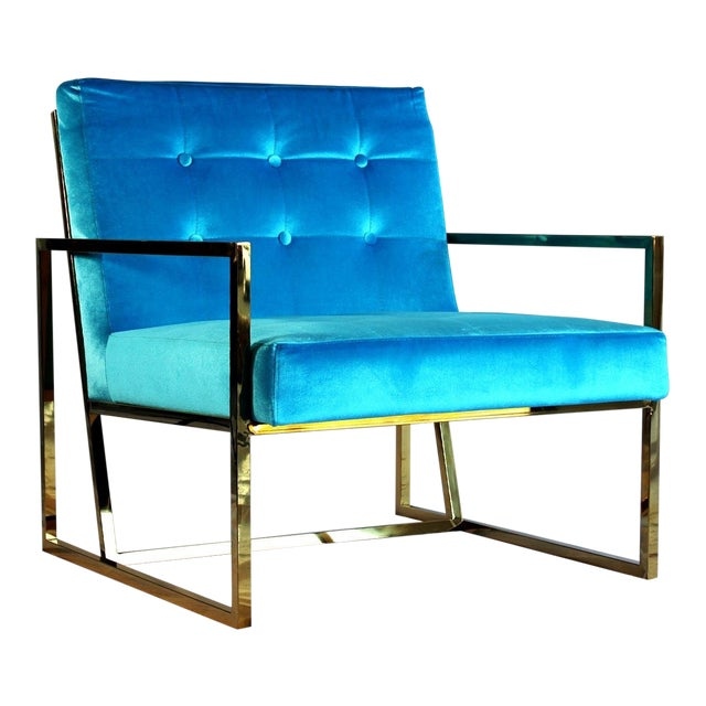Pasargad DC Millan Collection Leisure Chair For Sale - Image 9 of 9