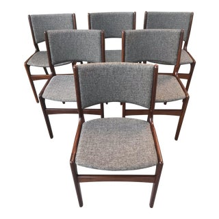 Erik Buch Rosewood Dining Chairs - Set of 6