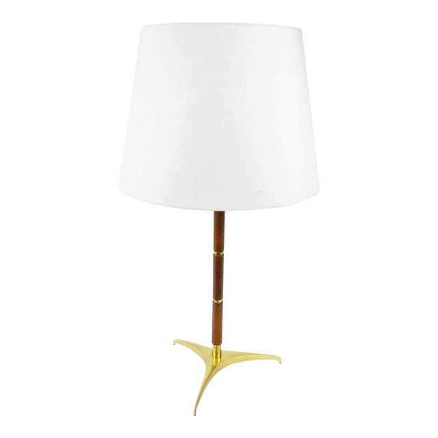Tripod Table Lamp attributed to J. T. Kalmar For Sale