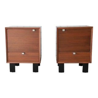 George Nelson for Herman Miller Nightstands, A Pair