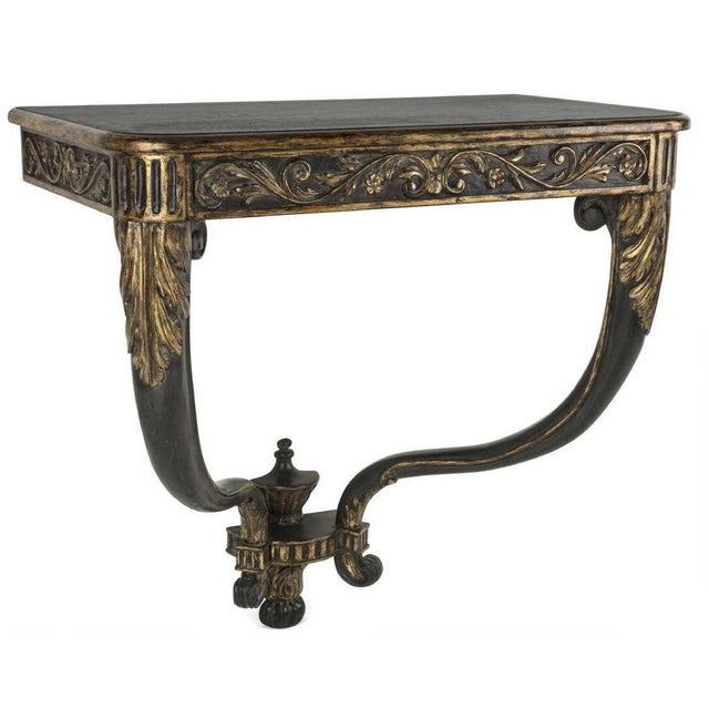 Continental Neoclassical Style Designer Console Table