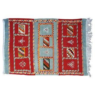 Moroccan Berber Rug - 3′4″ × 5′2″