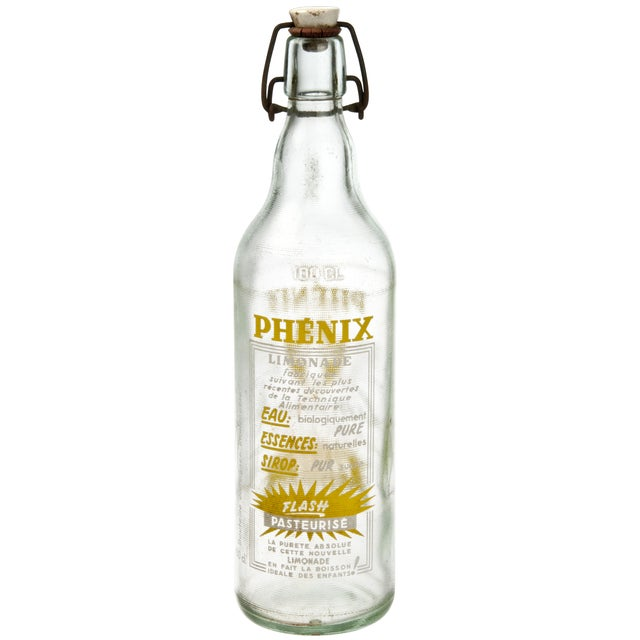 French Vintage French Phenix Limonade Bottle For Sale - Image 3 of 3