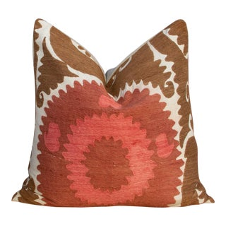 Sangi Suzani Square Pillow For Sale