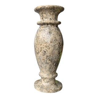 1970s Granite Vase For Sale