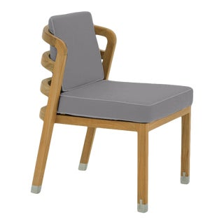 Linley Dining Side Chair in Moonlit Orchid For Sale