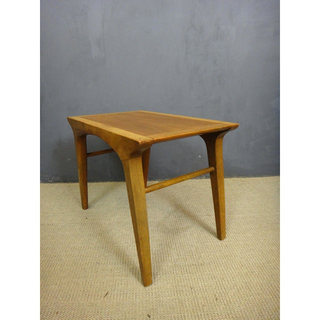 Drexel Profile Walnut Side Tables - A Pair - Image 6 of 6