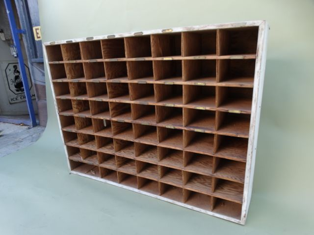 Perfect Vintage Hotel Mail Sorter/Wine Cubby | Chairish EL83