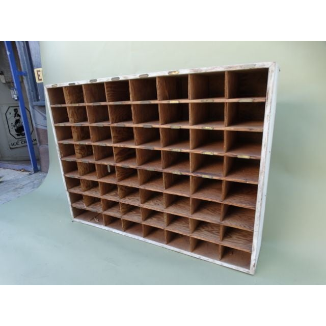 Vintage Hotel Mail Sorter/Wine Cubby - Image 4 of 5