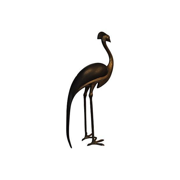 Vintage Bronze Bird Sculpture - Image 5 of 7