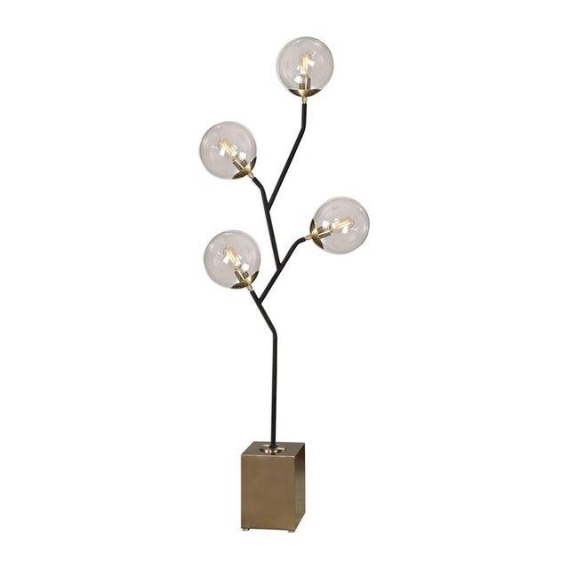 Mid-Century Modern Modern Atomic Floor Lamp For Sale - Image 3 of 4