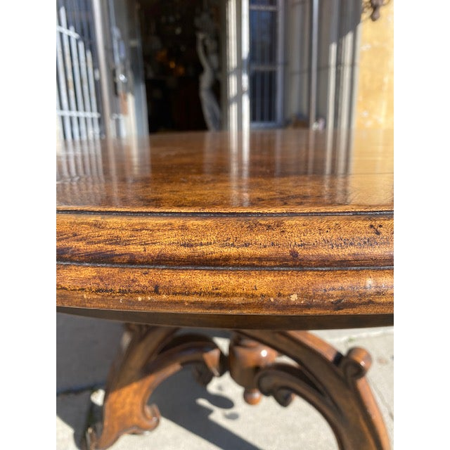 Brown Thierin Dining Table For Sale - Image 8 of 13