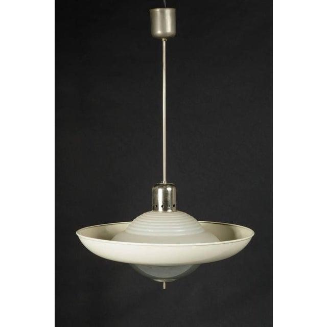 high end vintage hanging lamp from siemens halske decaso