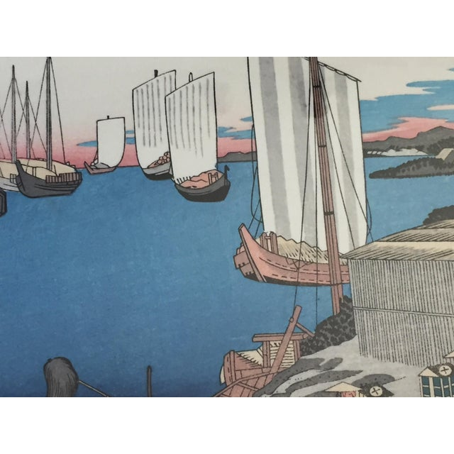 Japanese Woodblock Print For Sale - Image 4 of 12