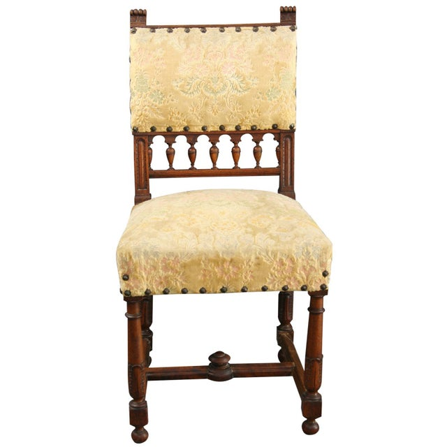 Antique 1900 French Dining Chairs - Set of 8 - Image 3 of 8