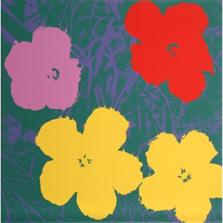 Andy Warhol, Flowers 6, Sunday B. Serigraph For Sale